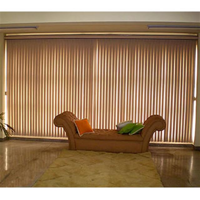 Persiana Vertical em Tecidos e PVC